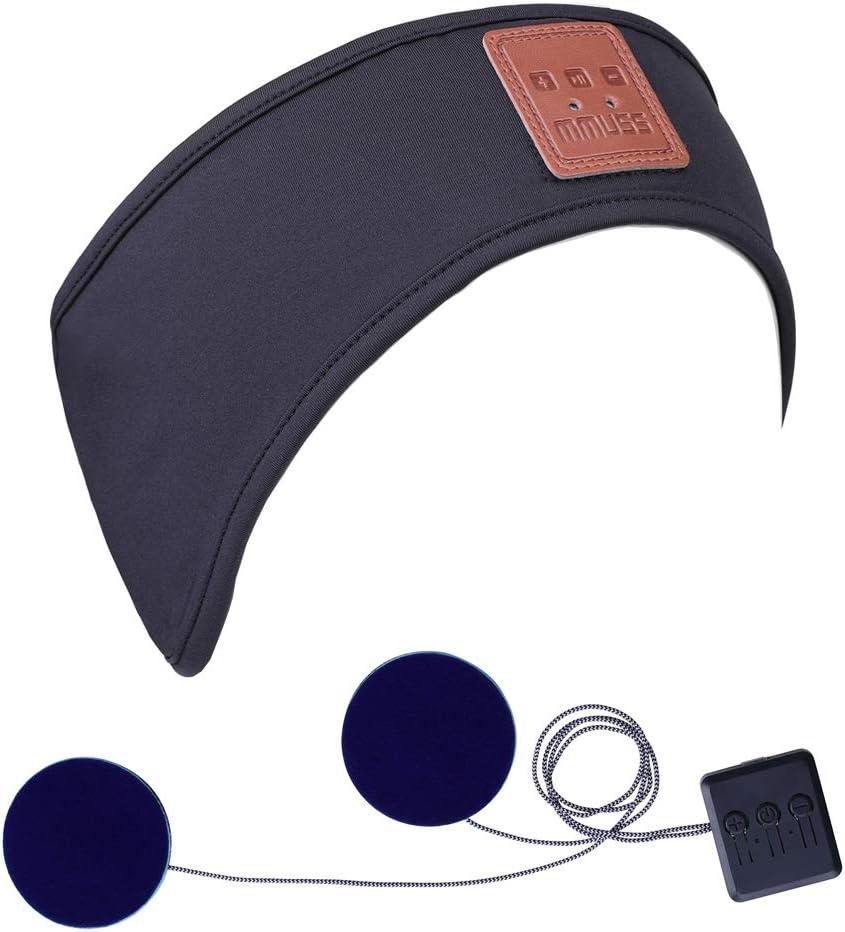 MMUSS Bluetooth Sleep Headphones Max 83% OFF Lycra Headband Cool Mesh Lining Outlet SALE
