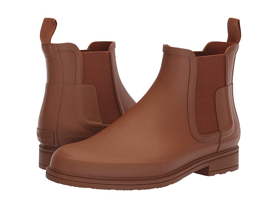 Hunter Original Refined Dark Sole Chelsea Boots (Pine Cone) Men