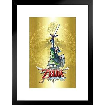 Zelda Skyward Sword Flying Poster 18x12 inch