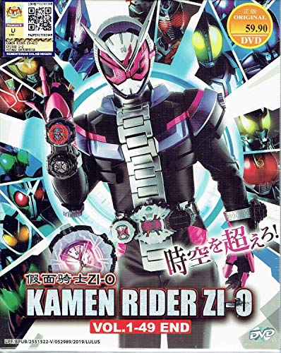 KAMEN RIDER ZI-O - COMPLETE TV SERIES DVD BOX SET ( 1-49 EPISODES )