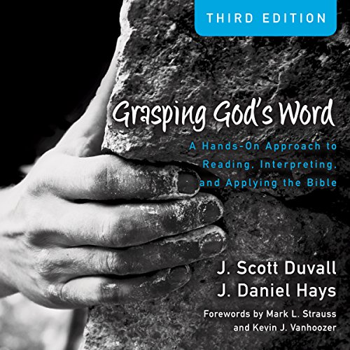 Grasping God's Word (Audio Lectures) audiobook cover art