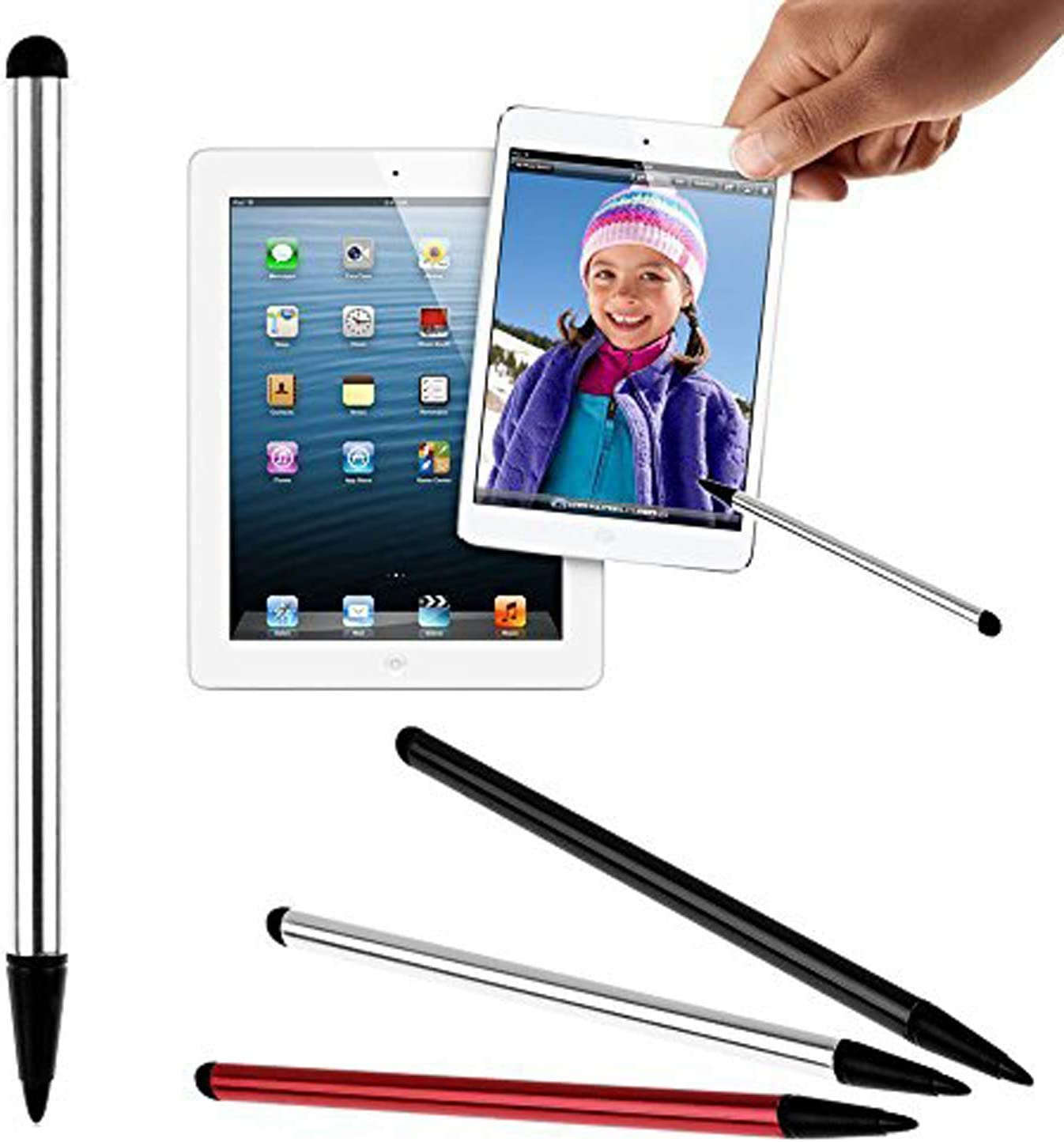 Retractable Touch Screen Stylus Pen for iPad iPhone Samsung Smartphone Tablet BB