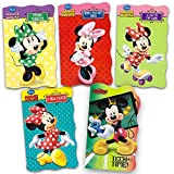 Disney Minnie Mouse Ultimate Board Books Set for Kids Toddlers -- Bundle Includes Pack of 5 Books