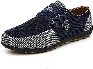bc82cea4 Zapatos de Lona Hombres Moda Casual Zapatos Verano Transpirable cómodo  Alpargatas Zapatillas Hombre Zapatos Pisos