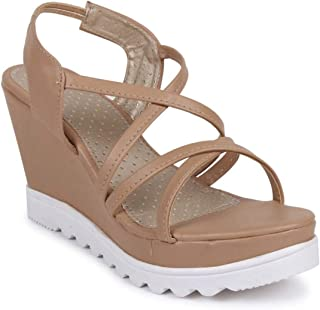 Gripex Shoes Sandals for Women Stylish Wedges High Heel Casual Trendy Comfortable