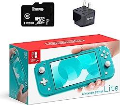 "Consola de juegos Nintendo Switch Lite, pantalla táctil de 5.5"" y almohadilla de control integrada, con tarjeta micro SD d..."