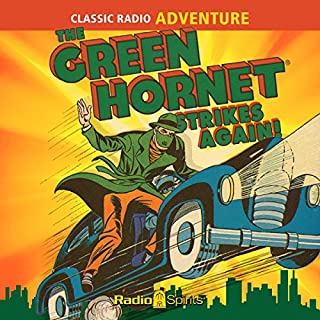 The Green Hornet Strikes Again cover art