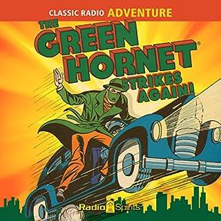 The Green Hornet Strikes Again audiobook cover art