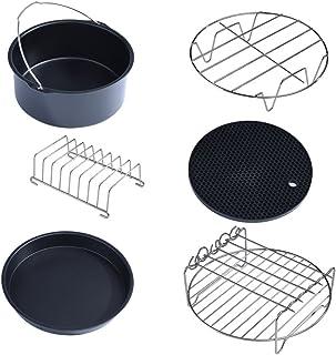 Kit d'accessoires pour friteuse à air, ensemble d'accessoires multifonctionnel pour friteuse à air, 6 pièces