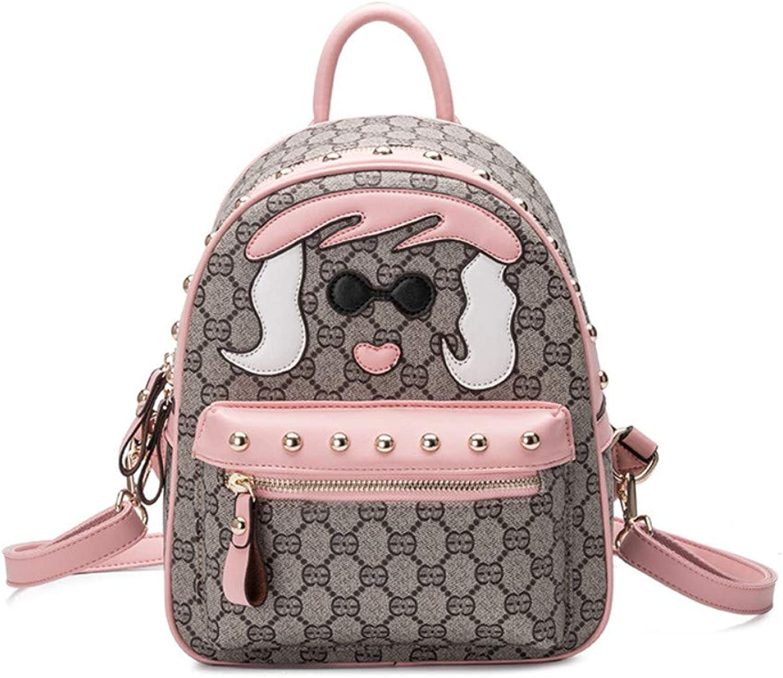 bcda47cd7185 Women Backpack Ladies Printing Backpack Women Waterproof Leisure ...