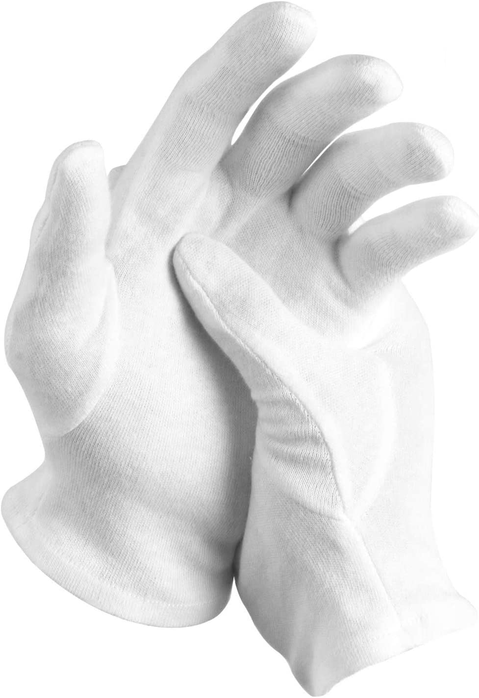 12 Pairs White Cotton Ranking TOP18 Gloves Inspectio Hands SPA Our shop most popular Dry for