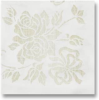 Hoffmaster 125046 Linen-Like Select Unembossed Dinner Napkin, 1/4 Fold, 17