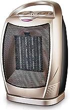 NFJ-LYR Ventiladores bajo Consumo,Calefactor bajo Consumo electrico,2 Modos,Calefactor Ventilador,Protección sobrecalentamiento,Calefactor Portátil,Termostato Regulable