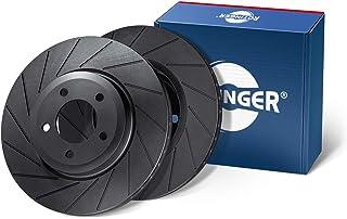 ROTINGER Dischi freno, Asse posteriore, Set da 2 pezzi RT 4561-GL//T6 Rivestimento anticorrosivo