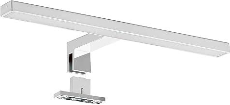 SEBSON® LED Spiegellamp 30cm, Badkamer Verlichting IP44, Spiegelkast Lamp Neutraal Wit 4000K 5W, 400lm, Spiegelverlichting...