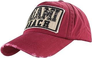 MINAKOLIFE Mens Vintage Luxury W Snapback Polo Hat Trucker Adjustable Baseball Cap