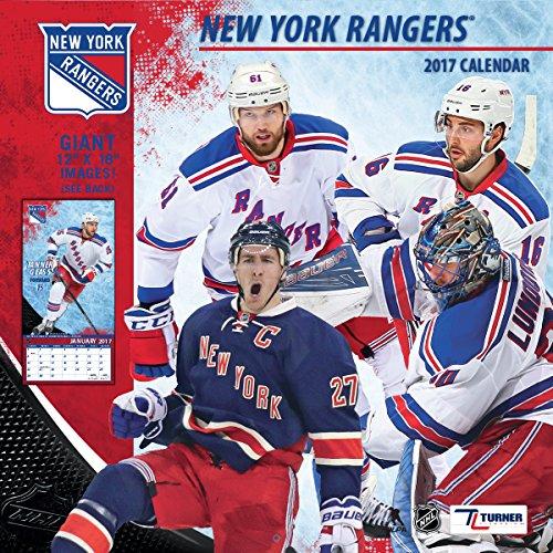 "Turner Licensing Sport 2017 New York Rangers Team Wall Calendar, 12""X12"" (17998011949)"