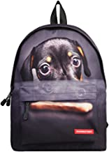 JKPUDUN School Bags for Teenagers Boys Girls Children Students Backpacks Casual Camping Trip Laptop Daypack for Women (Dog A)