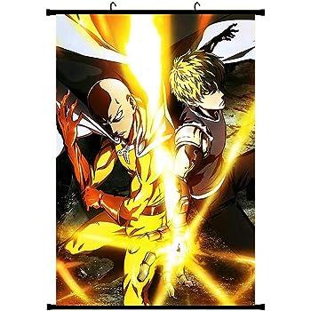 H09 CAR-TOBBY Anime One Punch Man Anime Manga Wall Poster Scroll Peinture