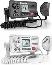 Lowrance VHF Marine Radio,DSC,Link-6 (White)