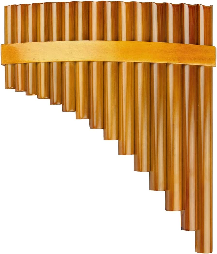 15 Pipes Brown Pan Flute G Traditional Chinese New product type Instr Purchase Key Musical