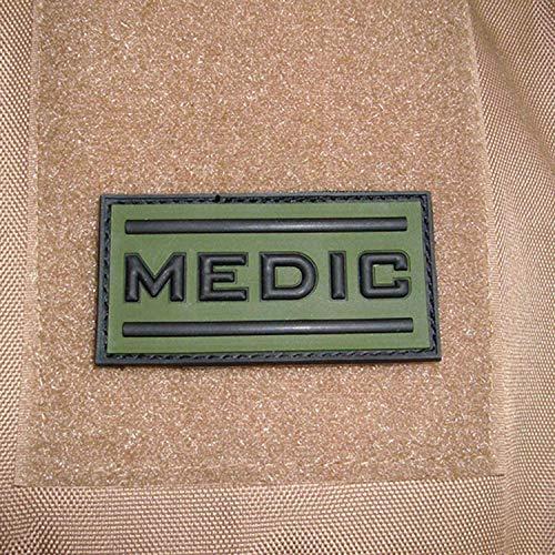 Copytec Medic 17042 US Army Médecin médical en caoutchouc 3D 5 x 8 cm