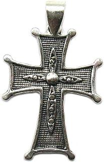 Ciondolo in argento massiccio 925 Croce PE001377 Empressjewellery
