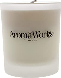 AromaWorks Light Petitgrain and Lavender Soy Wax Candle - Aromatic Citrus, Warming Herbal Undertones Aroma - 100% Pure Ess...