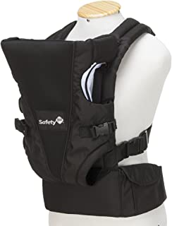 Safety 1St Uni-T Baby Carrier For Unisex, Black