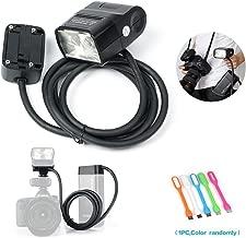 Godox EC200 200W Extension Flash Head with 2M Cable Portable Off-Camera Light Lamp Compatible Godox AD200 ,AD200Pro Pocket Flash Speedlite
