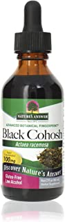 Nature's Answer Black Cohosh Root Extract Supplement with Organic Alcohol, 2-Fluid Ounces | Menopausal Support | Hot Flash...