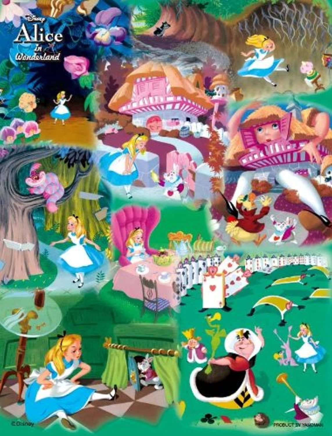 To the country of Disney jigsaw puzzle bubble wrap 500 piece wonder (Alice) 4195 (japan import)