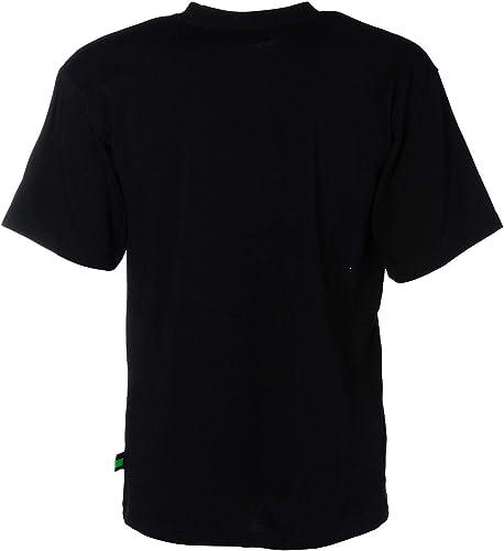 GCDS Homme M02005402 Noir Coton T-Shirt