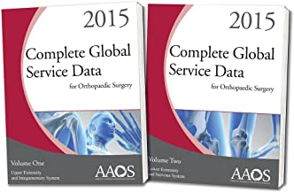 Complete Global Service Data for Orthopaedic Surgery 2015