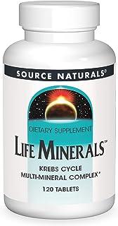 Source Naturals Life Minerals, 120 Tablets