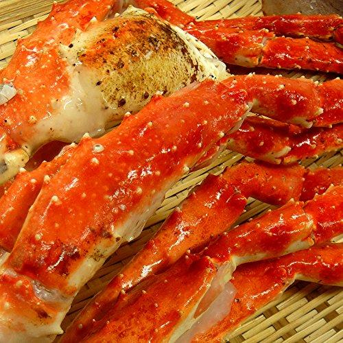 天然 たらば蟹 約2kg 超優良選別品 極太3L/4Lサイズ タラバガニ ボイル 訳あり