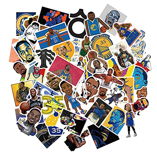 LZWNB Nba Star Kevin Durant - Diario de skate para equipaje (50 unidades)