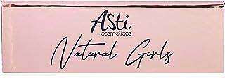 PALETA DE SOMBRAS NATURAL GIRLS, Asti Cosméticos