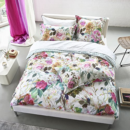 Designers Guild Palissy kussensloop, katoen, camellia, 65 x 65 cm