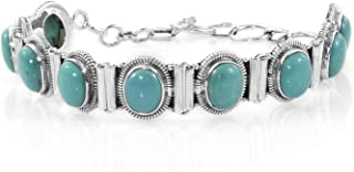 Turquoise 925 Sterling Silver Bracelets For Womens, Bracelets 1027