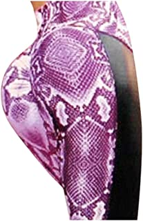 ZYZRYP Push Up Leggings Women Fashion Serpentine Running Leggins High Waist Long Leggings Elastic Waist Pencil Pants Sport...