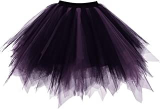 short black tulle skirt