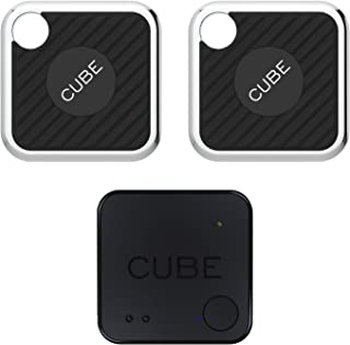 $85 » Cube Pro, Cube Shadow Bundle, Key Finder Smart Bluetooth Tracker for Luggage, Wallet, Dogs, Kids, Cats, with app for Phone...
