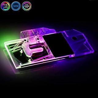 Bykski GPU銅RBW LED グラフィックスカードGPU VGA 水冷却ブロック 水冷ヘッド For Colorful RTX 2080Ti RTX 2080 RTX 2070 +オーラLedライト+リモートコントロールのコ (N-IG2080AOC-X)