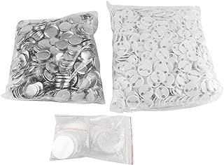 25mm/ 32mm Blanco Botón, Insignias de pin en blanco, botón, consumibles de Insignia Piezas Consumibles para Pro Button Maker Pro Fabricante de Botón (32mm)