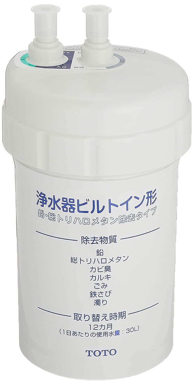 TOTO 浄水器ビルトイン型用カートリッジ TH634-1【鉛?トリハロメタン除去タイプ】