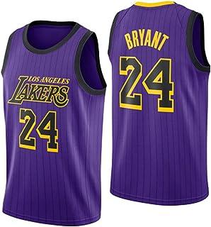 Hanhua Men's Women Jerseys - Basketball T-Shirts Vests 24# Bryant Sweatshirts Breathable Embroidery