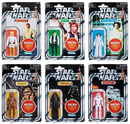 Hasbro Star Wars Retro Figures
