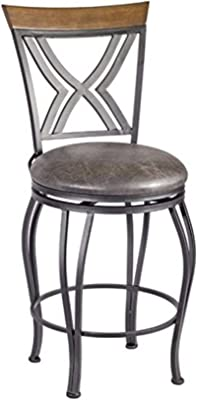 Super Amazon Com Powell Big And Tall Metal Crossed Legs Counter Squirreltailoven Fun Painted Chair Ideas Images Squirreltailovenorg