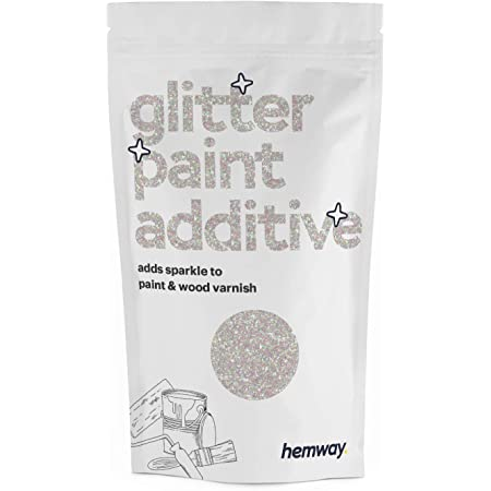Amazon Com Hemway Glitter Paint Additive For Emulsion Acrylic Water Based Paints 100g Mother Of Pearl Home Improvement